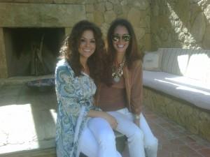Brooke Burke and Christina Makowsky