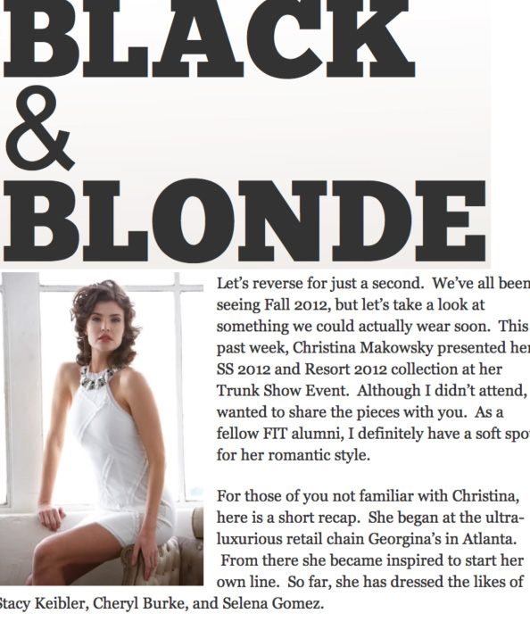 ChristinaMakowskyblack&blonde press hit-1
