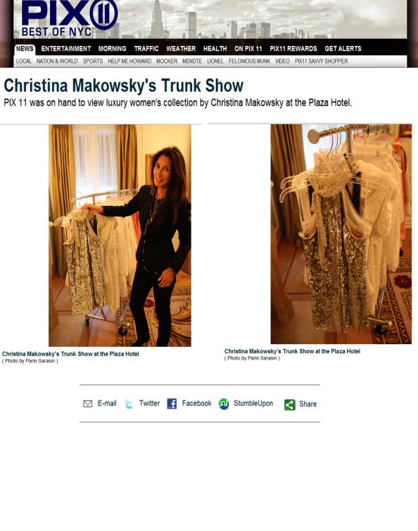 Pix 11-Christina Makowsky press hit