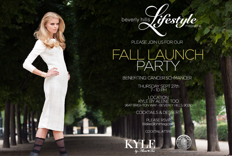 BHL Magazine Pre Fall Launch Party featuring Christina Makowsky